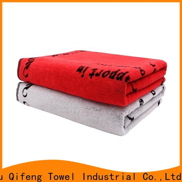Ruifu Qifeng cotton best beach towels directly price for beach