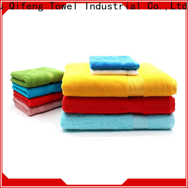good quality bamboo towel set 4pack on sale for club