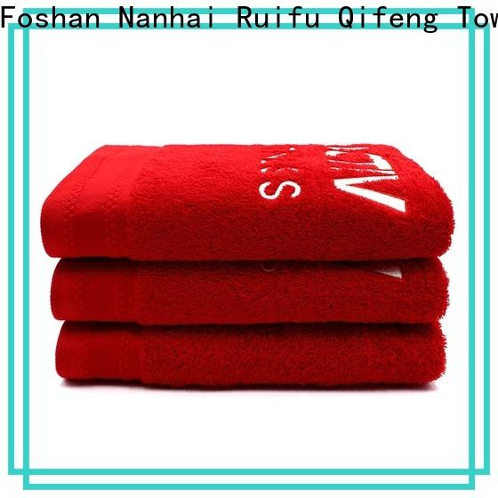 Ruifu Qifeng hand best quality bath towels supplier for home