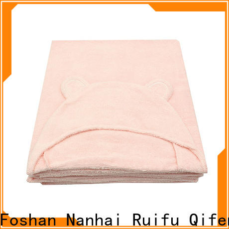 Ruifu Qifeng comfortable infant hooded towel manufacturer for hospital