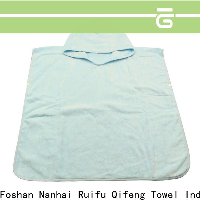 kids infant hooded towel qf019b722 manufacturer for kindergarden