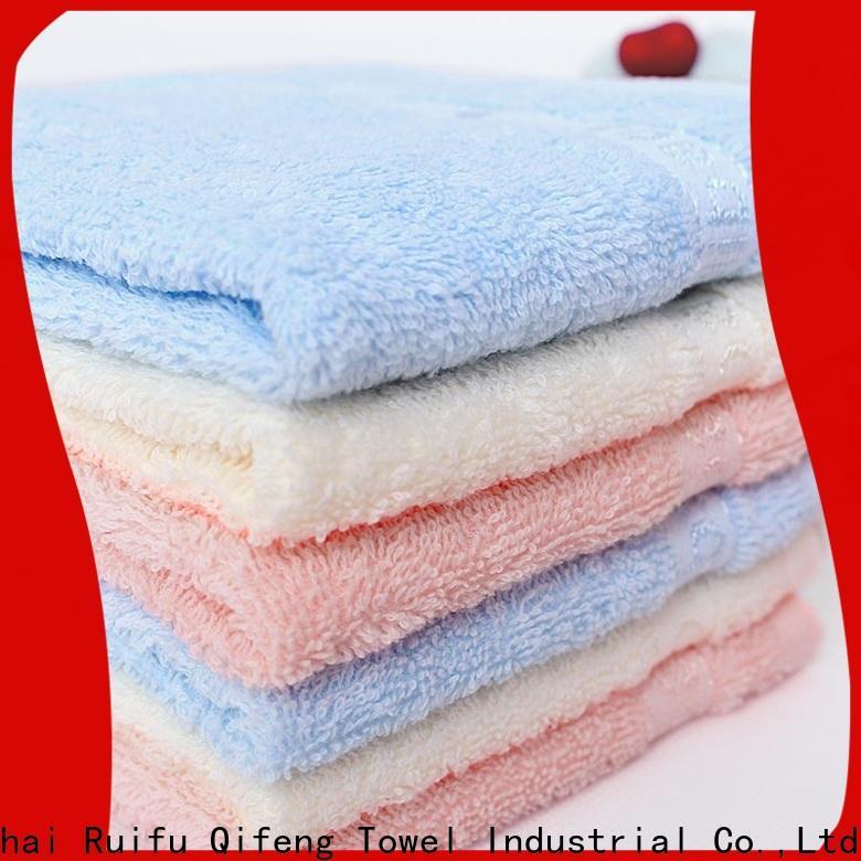 Ruifu Qifeng children baby hooded bath towel online for kindergarden