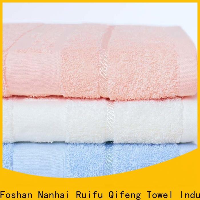 Ruifu Qifeng comfortable newborn baby towel online for hotel
