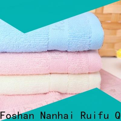 Ruifu Qifeng personalized infant hooded towel design for hospital