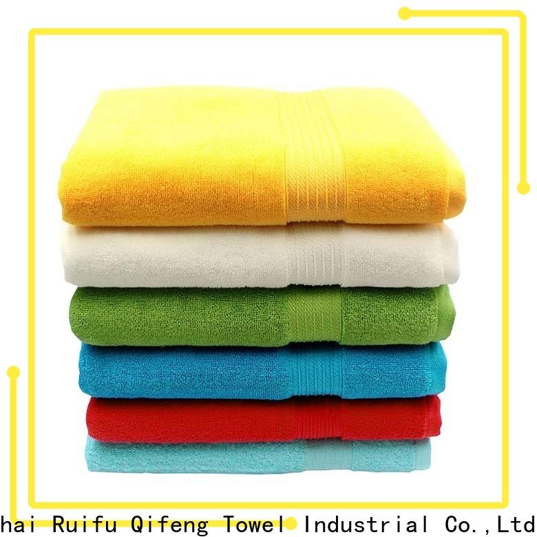 Ruifu Qifeng dyed best quality bath towels online for hotel