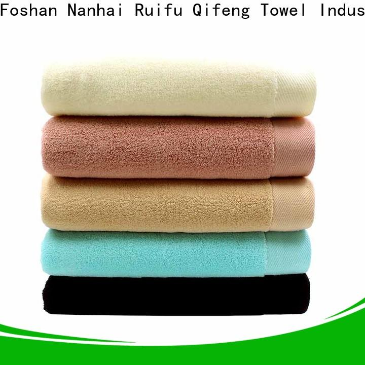 customized custom towels absorbent factory price for restaurant