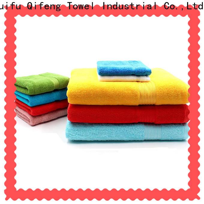 Ruifu Qifeng eco-friendly cotton towel set supplier for home