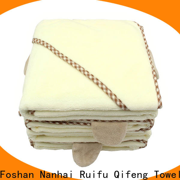 Ruifu Qifeng qf023d1013 bamboo baby towel supplier for home