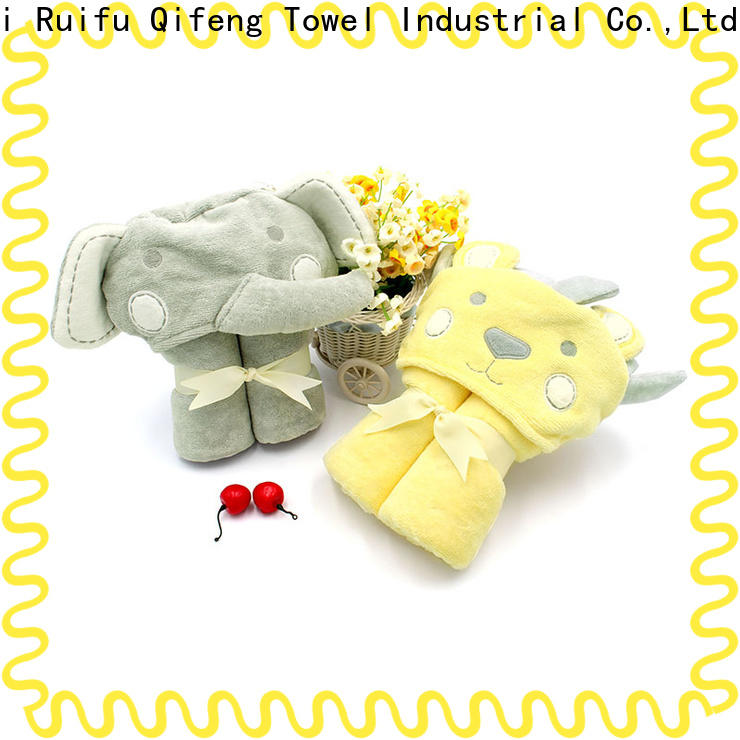 natural baby towel series towels design for hospital