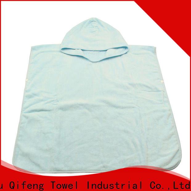 Ruifu Qifeng kids baby poncho towel promotion for kindergarden