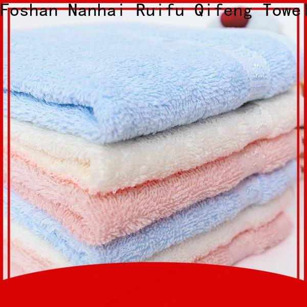 Ruifu Qifeng natural soft baby towels online for hospital
