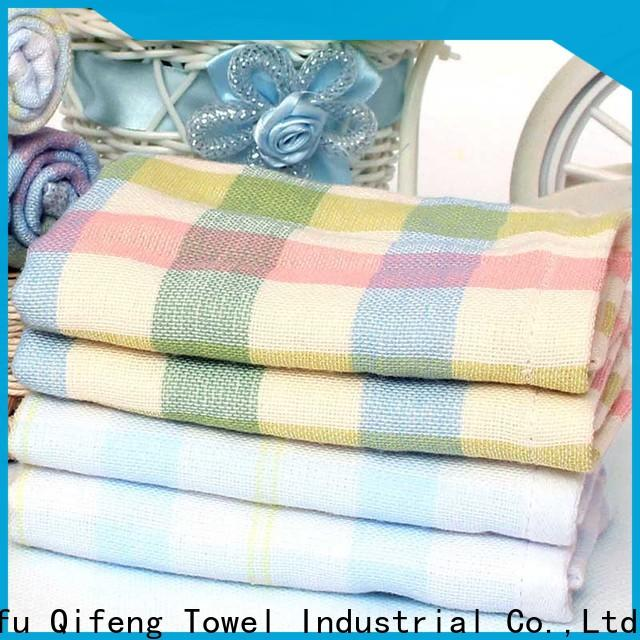 Ruifu Qifeng professional bamboo baby hooded towel online for kindergarden