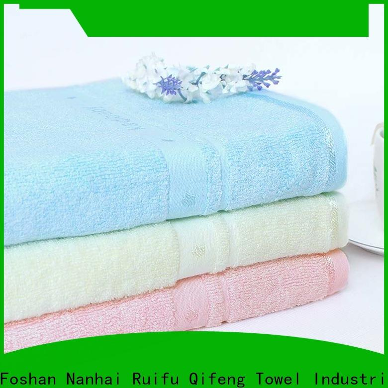Ruifu Qifeng qf020d894 personalized baby towels design for home