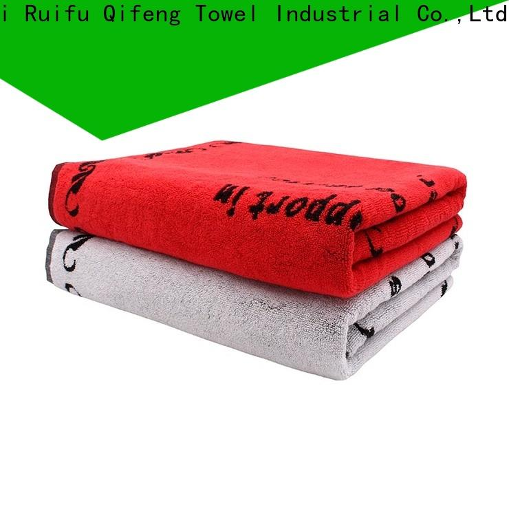 Ruifu Qifeng printing extra large beach towels promotion for home