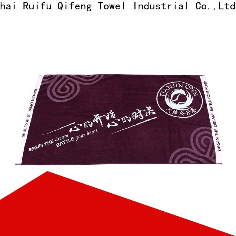 Ruifu Qifeng promotion best gym towel supplier for hospital