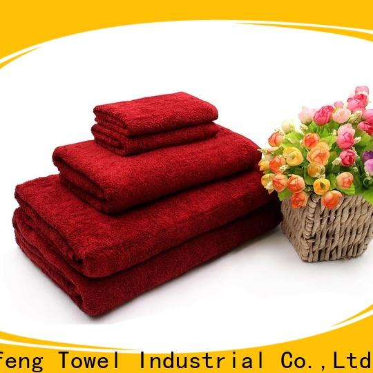 Ruifu Qifeng 4pack towel set series supplier for club