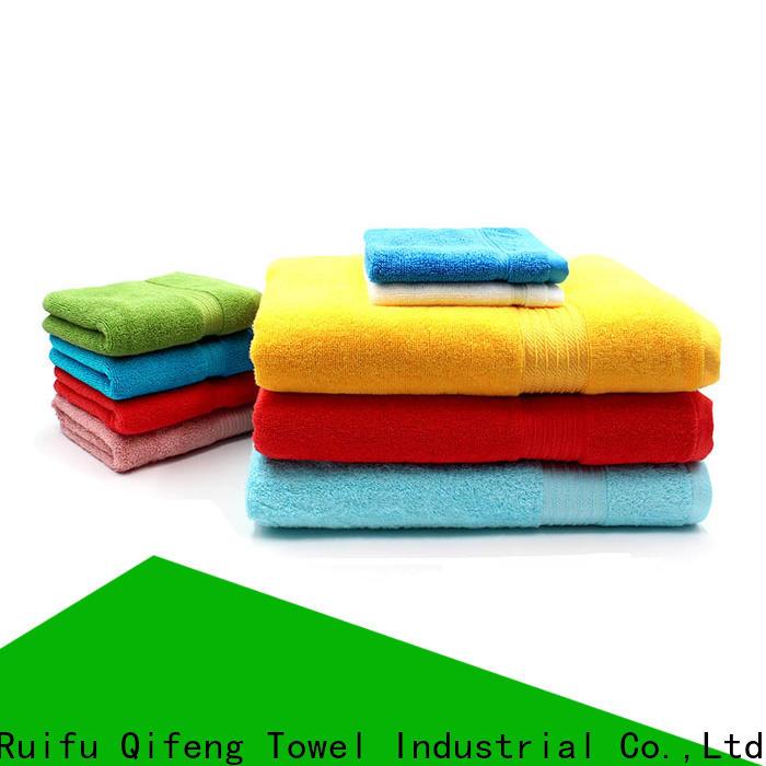 Ruifu Qifeng organic bamboo towel set on sale for hospital