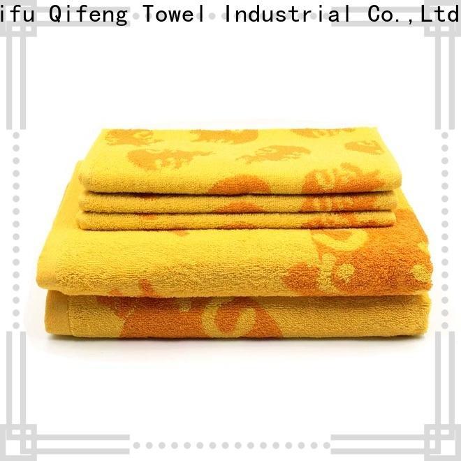 Ruifu Qifeng hand customized towel set supplier for home