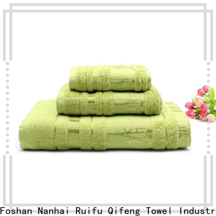 Ruifu Qifeng soft bath towel sets supplier for home