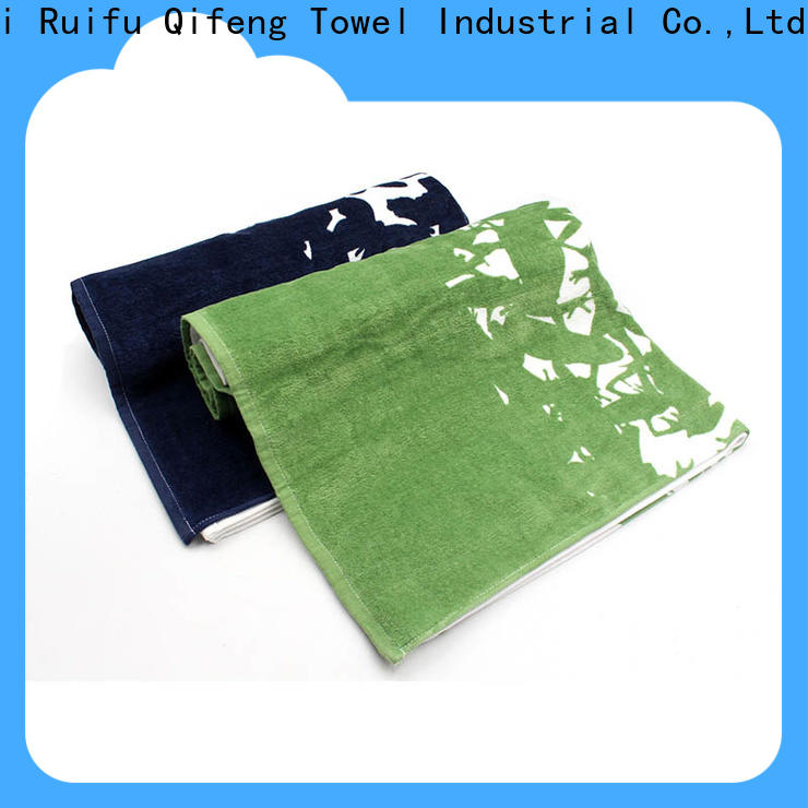 Ruifu Qifeng soft bath towel series on sale for club