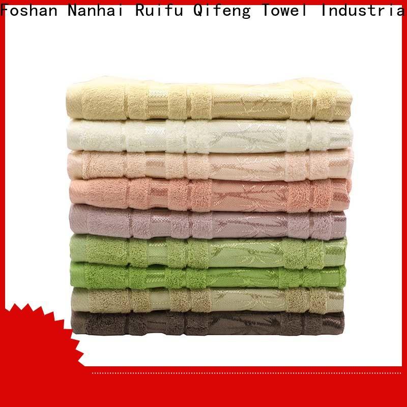 Ruifu Qifeng good quality shower towel factory price for beach