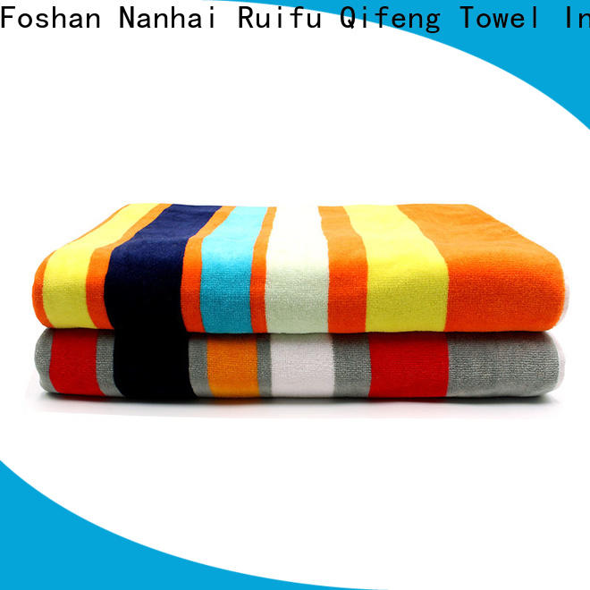 Ruifu Qifeng qf008d1219 bath towel series factory price for hospital