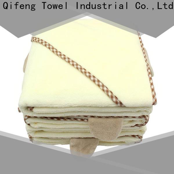 kids baby poncho towel qf014f01 design for hospital