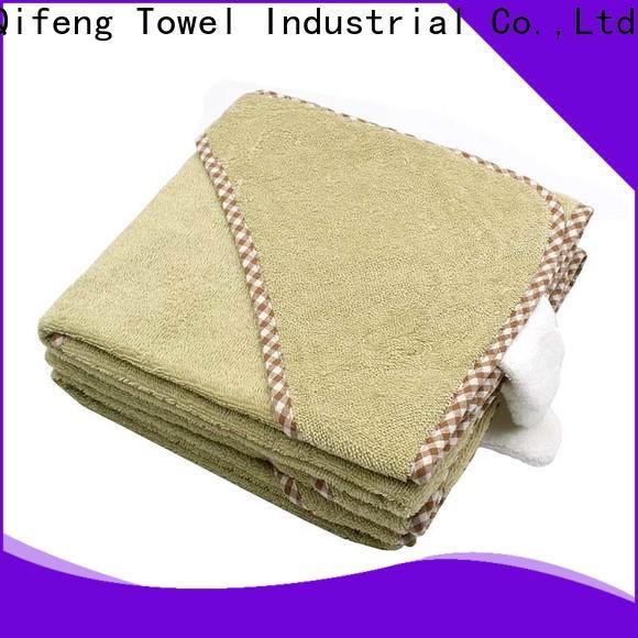 Ruifu Qifeng comfortable newborn baby towel design for hotel