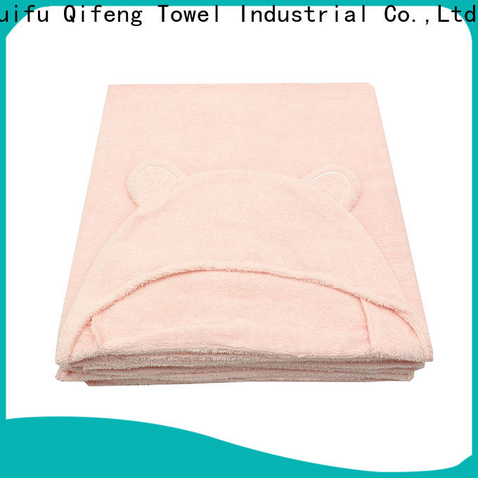 Ruifu Qifeng comfortable baby hooded towel design for kindergarden