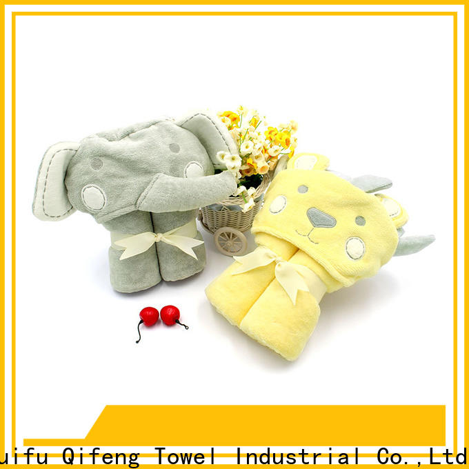 comfortable toddler bath towels qf015a383 promotion for hotel