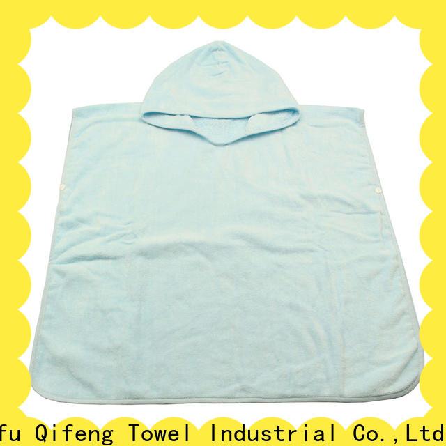 Ruifu Qifeng customized baby hooded bath towel online for hotel