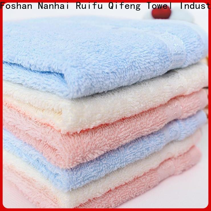 Ruifu Qifeng natural infant hooded towel online for hospital