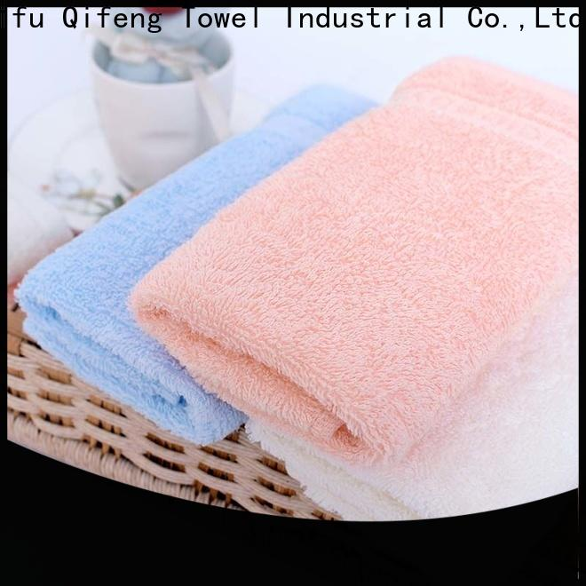 soft organic bamboo baby towels bath promotion for kindergarden