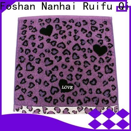 Ruifu Qifeng selling custom towels supplier for club