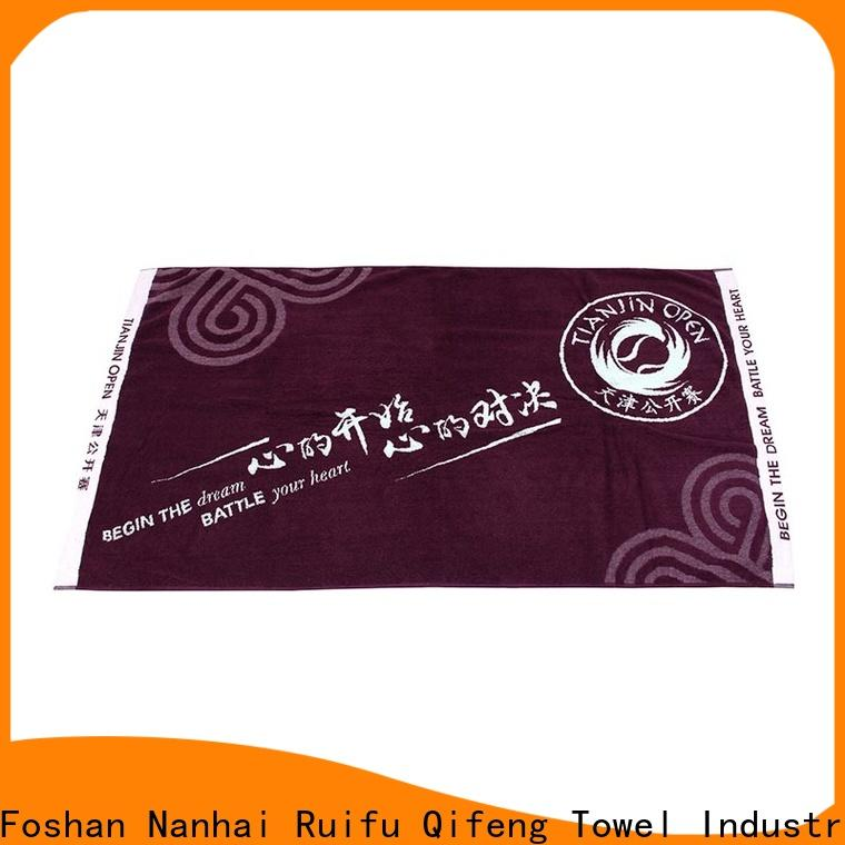 Ruifu Qifeng luxury terry towel manufacturers supplier for hotel