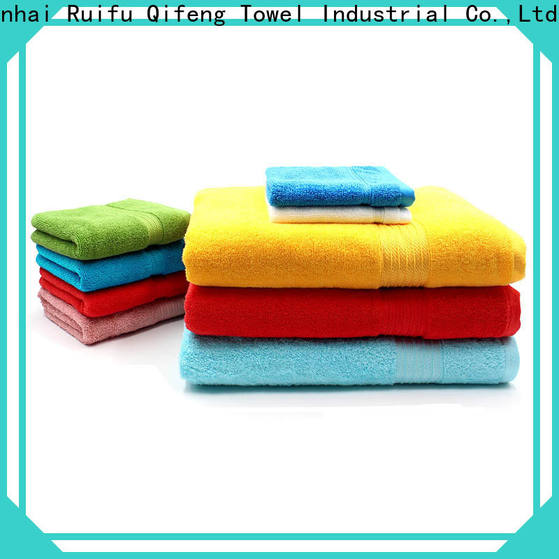 hand cotton towel set customized supplier for hotel