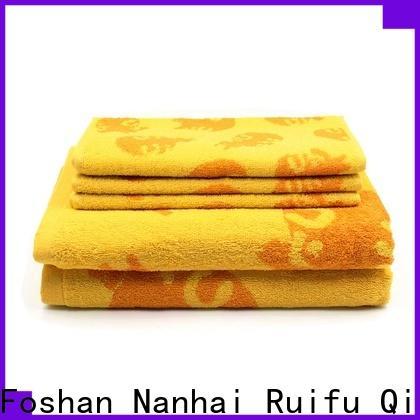 Ruifu Qifeng various bamboo towel set supplier for club