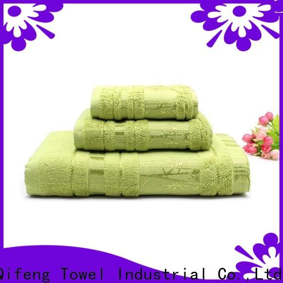 Ruifu Qifeng monogrammed towel set series on sale for club