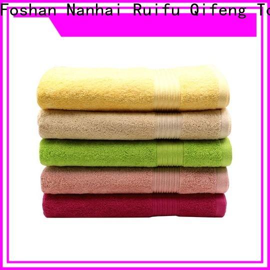 Ruifu Qifeng pool large beach towels wholesale for pool