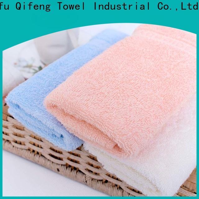 Ruifu Qifeng children bamboo baby towel design for hotel