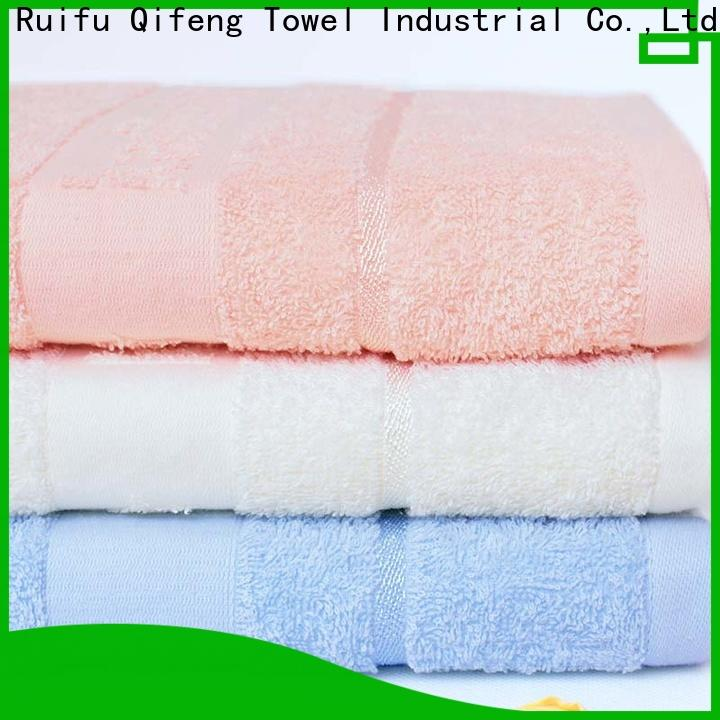 Ruifu Qifeng toddler bamboo baby towel promotion for hotel