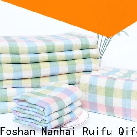 Ruifu Qifeng comfortable toddler bath towels promotion for kindergarden