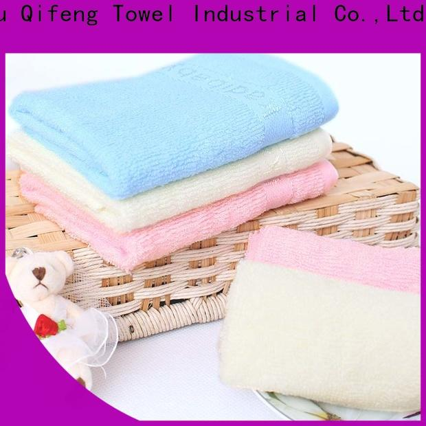 Ruifu Qifeng qf017d1012 bamboo baby towel manufacturer for hospital