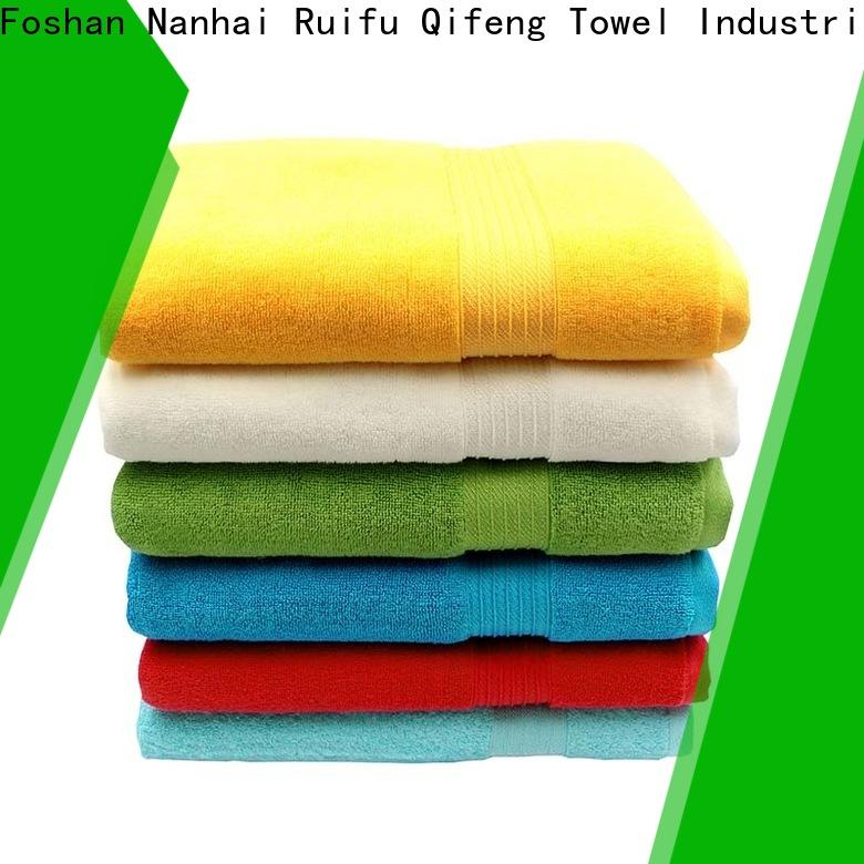 soft large bath towels bamboo factory price for hospital
