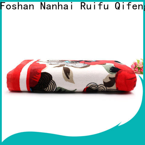 Ruifu Qifeng qf001d1180 extra large beach towels supplier for swimming