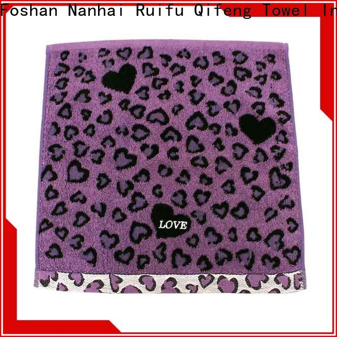 Ruifu Qifeng high quality terry towel manufacturers on sale for restaurant