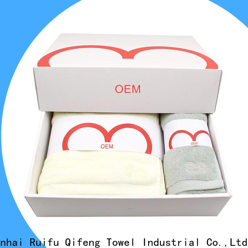 Ruifu Qifeng super custom towels factory price for home