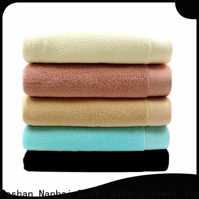 Ruifu Qifeng dry custom towels online for beach