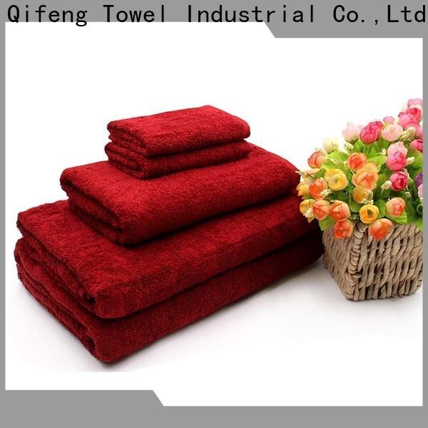 good quality cotton towel set cotton on sale for beach