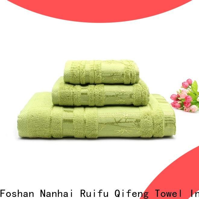 soft bath towel sets bamboo supplier for restaurant